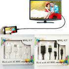 MHL 5 Pin to 11 Pin Micro USB to HDMI Adapter Cable For Phone Tablet 1080P HD TV