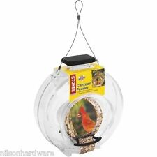 Stokes Select Clear Canteen Hanging Bird Seed Food Feeder 4.7# Cap 38236