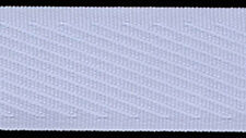 36mm BLUE woven binding TAPE non-stretch x 150 mts