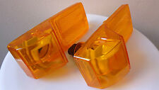2x Orange Side Indicator Lights Amber Lamps for SCANIA P-G-R SERIE ( 2008  ) E4