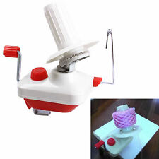 Hand Operated Swift Yarn Wool Winder Holder Fiber String Ball Machine 1Pc