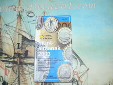 MuntAlmanak 20.2003 Nederland All coins & Banknotes  1806-date. All Euro coins