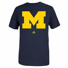 "MICHIGAN WOLVERINES ADIDAS GRAPHIC ""GO-TO"" T-SHIRT COLLECTION BY ADIDAS MEN'S"