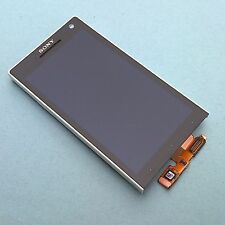 100% Genuine Sony Xperia S LT26i front+digitizer touch screen+LCD display+frame