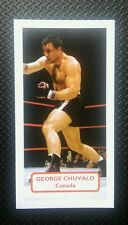 BOXING - Canada - GEORGE CHUVALO - Score PRIZE FIGHTERS UK trade card