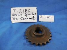 Norton T2180 NOS Engine Sprocket 21 Tooth , Pre Commando  N500