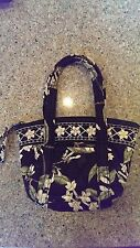 VERA BRADLEY JASMINE RETIRED TEENY PADDY MINI TOTE BAG GUC!