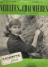VEILLEES DES CHAUMIERES N°2  - 1952 - REINETTE, par DELLY