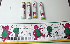 Barney & Baby Bop Musical Keys Notes Wall Paper Border Roll New in factory Wrap