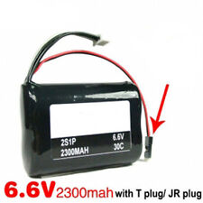 A123 Li-Fe Battery 6.6V 2S1P 2300mAh 30C for Receiver -  Futaba Connector