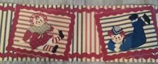 RAGGEDY ANN AND ANDY NURSERY PREPASTED WALL BORDER ROLL  NEW