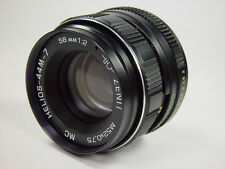 Perfect !! MC HELIOS 44M-7 2/58 M42. 6 aperture blades. Best resolution