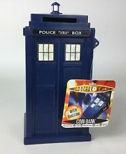 Doctor Who Rare Vintage 2007 Official Tardis Money Box Bank W/sweets, Unused