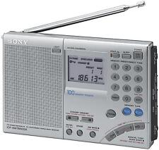 Sony Multi-Band World Receiver Radio in Stereos ICF-SW7600GR