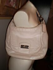 AUTHENTIC COACH KRISTIN SHOULDER BAG/SATCHEL 100% LEATHER EXCELLENT