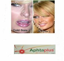 cold sore treatment reduce pain honey, water, cranberry extract aphta plus