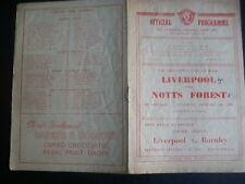 LIVERPOOL v NOTTINGHAM FOREST    FA CUP     1947/48