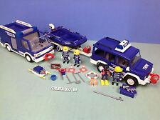 (O4090.1) playmobil Série THW fourgon, voiture, bâteau etc.. ref 4090 4088 4087