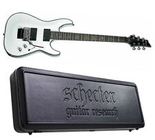 Schecter Hellraiser C-1 FR White Electric Guitar c1 Floyd Rose + SGR HARD CASE!