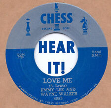 ROCKABILLY REPRO: JIMMY LEE & WAYNE -Love Me/RUSSELL BRIDGES-All Right CHESS