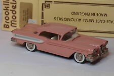 BROOKLIN BRK 22 1958 EDSEL CITATION TWO DOOR HARDTOP 1/43