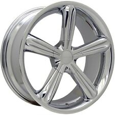 18x8.5 DECORSA STELLAR CHROME ALLOY WHEEL AND TYRES SUITS FORD NISSAN MAZDA