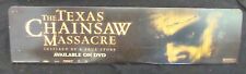 TEXAS CHAINSAW MASSACRE video store display original video promo 2003