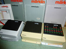 marklin   ENSEMBLE de 3 transfos  DIGITAL 6002 + 6027 + 6043