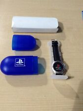 Sony Playstation PSX Watch Very Rare Launch Promo W/Case Free S&H!