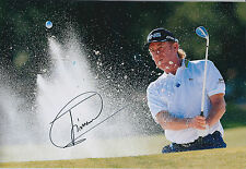 Miguel Angel JIMENEZ SIGNED Autograph Photo AFTAL COA Ryder Cup Spanish Open Win