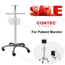 Trolley / go-Cart / stand / Staffa per CONTEC monitor paziente / Vital Sign Moni