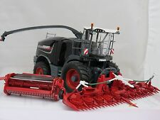 WIKING FENDT KATANA 85 HI GLOSS BLACK PAINT  CONVERSION BRITAINS ,SIKU,WEISE