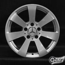 1x Mercedes Benz classe C W204 16 Zoll Cerchi alluminio A2044011002 Wheel 6Jx16