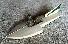 "VINTAGE HYDROPLANE 19 1/2"" RACE BOAT  TETHER"