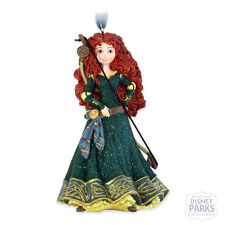 Authentic Disney Parks Merida Hard Glitter Dress Holiday Ornament from Brave
