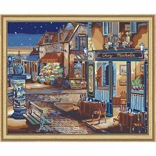 Plaid 21757 Paint by Number Kit, 20-Inch by 16-Inch, Starry Night , New, Free Sh