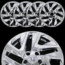"4 New 2015-2017 Honda CRV 17"" Chrome Wheel Skins Hub Caps Full Alloy Rim Covers"