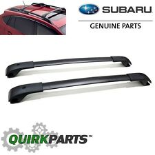 2012-2016 Subaru Impreza 5 Door XV Crosstrek Aero Roof Cross Bar Set OEM NEW