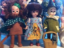 Complete Set of 12 Madame Alexander Wizard of Oz 2008 McDonald's Dolls + Toto