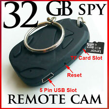 16 GB Spy Digital VOICE SOUND &VIDEO RECORDER camera fob keyring camcorder Cam