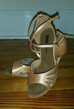 Stunning Latin Dance shoes, size US 6 1/2W. Retail price $70. Yours for $25!