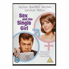 Sex and the Single Girl 1964 DVD Tony Curtis, Natalie Wood Brand New and Sealed
