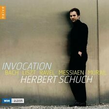 Herbert Schuch-Invocation CD NUOVO Bach, J. - S./Murail, T./Liszt, F./Messiaen, O.