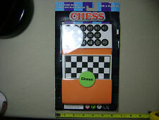 """Foam Chess with 5"""" x 5"""" Game Board (NEW, sealed)"""
