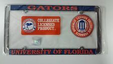 Officially Licensed Florida Gators Metal License Plate Frame - Thin