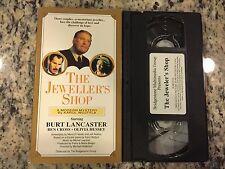 THE JEWELLER'S SHOP RARE OOP VHS 1988 BURT LANCASTER, BEN CROSS, OLIVIA HUSSEY!