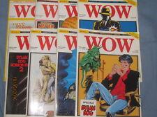 WOW nuova serie dal 1989  - 0-1-2-3-5-6-7-8 - serie quasi completa