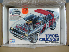 New Shrinkwrap Sealed Vintage Tamiya 1/12 Toyota Celica Gr.B Rally Special 5864