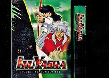 InuYasha - Complete Season 4 - Brand New 5-Disc Anime Box Set