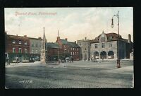 Northamptonshire Northants PETERBOROUGH Market Place 1911 PPC by Valentine